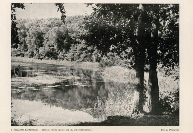 Jezioro Kociołek Źrenica WPN (archiwum)