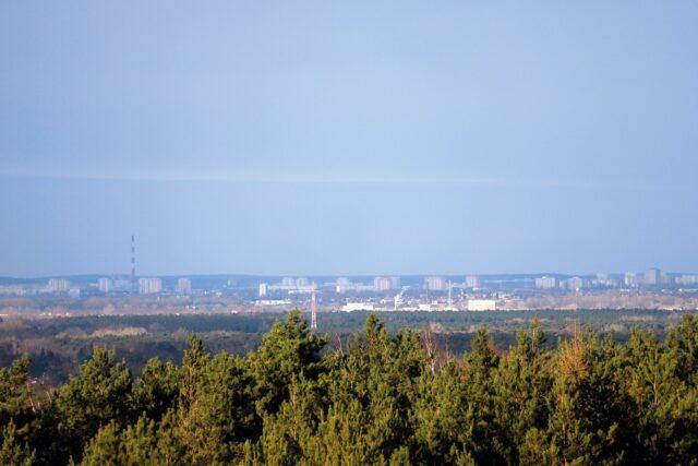Widok na Poznań