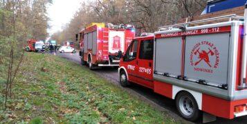 Wypadek na trasie Mosina - Żabinko
