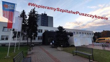 Wspieramy Szpital w Puszczykowie