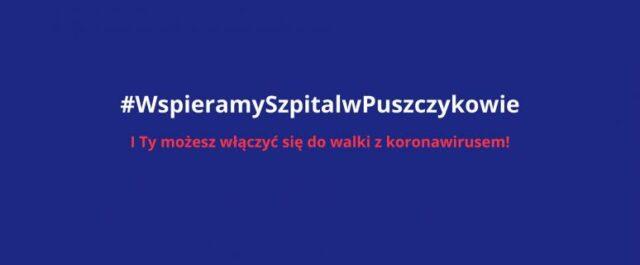 #WspieramySzpitalwPuszczykowie
