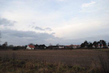 Krosno, część obszaru, na którym ma powstać osiedle.