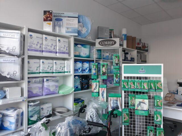 Centrum Handlowe Łęczyca - sklep rehabilitacyjno – medyczny EUROMED