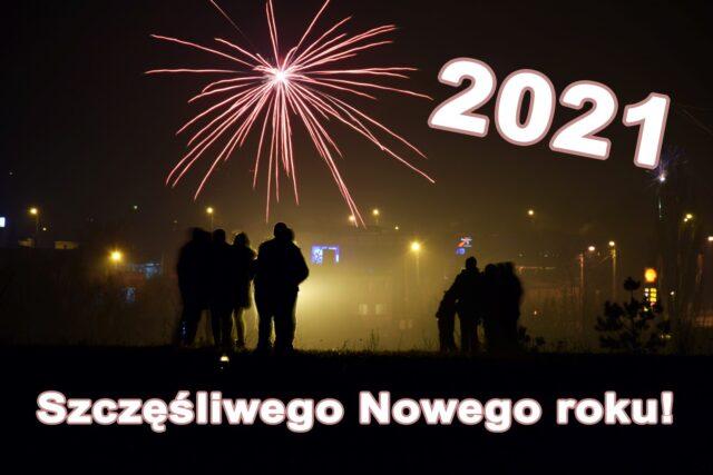 Sylwester 2021 - sztuczne ognie