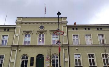 Urząd Miejski w Mosinie - budynek Urzędu Gminy Mosina przy ulicy Plac 20 Października 1