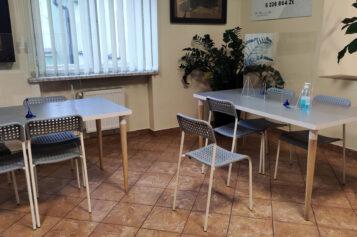 Urząd Miejski w Mosinie - obsługa interesantów wewnątrz budynku w czasie epidemii covid-19
