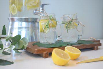 Woda i cytryny
