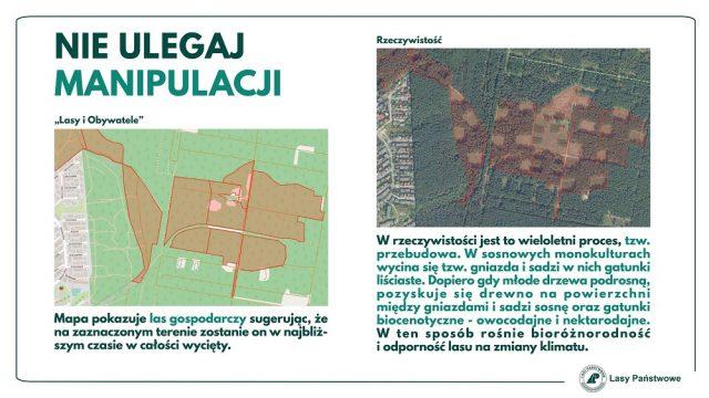 Lasy Państwowe: Nie ulegaj maniupulacji