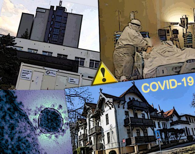 covid-19 Szpital w Puszczykowie i Szpital w Ludwikowie