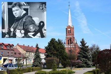 Śp. druh Łukasz Stucki i Kościół św. Michała Archanioła w Czempiniu