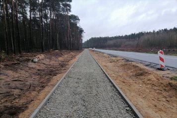 Rozbudowa DW 431 na odcinku Świątniki – Mieczewo fot. WZDW