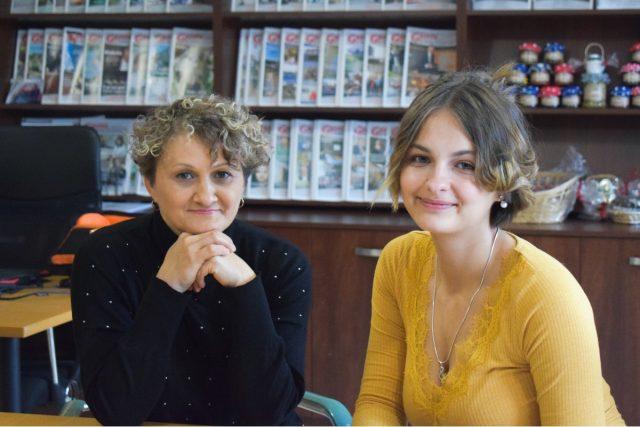 Oksana i Kasia