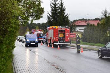 Wypadek na Leszczyńskiej 07,05,2021