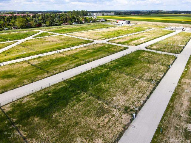 Nowe ogródki działkowe na Głuszynie