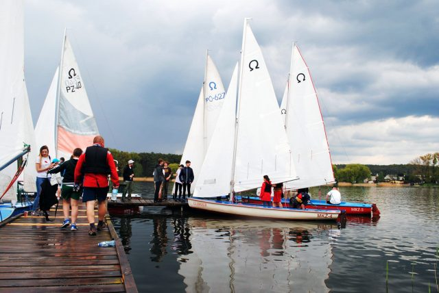 Mosiński Klub Żeglarski - przystań żeglarska