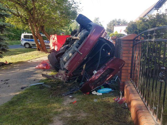 Wypadek w miejscowości Pecna