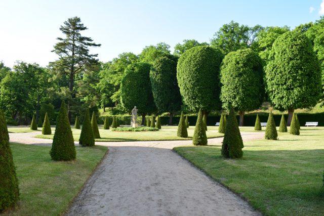 Ogród Pałacu w Rogalinie