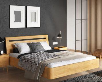 Łóżko w sypialni