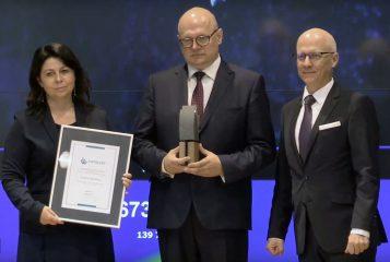 Tatiana Cynka, Przemysław Mieloch - debiut GPW