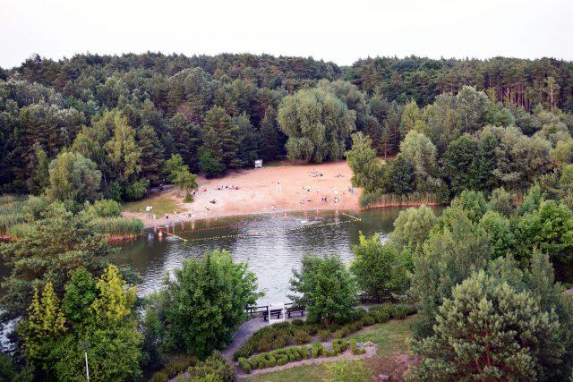 Glinianki - kąpielisko na Pożegowie