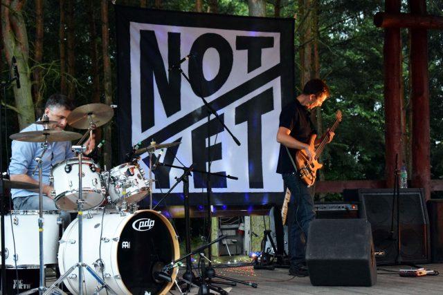NOT YET - debiutancki koncert mosińskiego zespołu rockowego