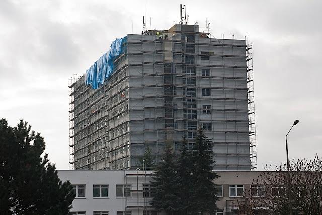 Szpital w Puszczykowie w trakcie remontu fot. Zbiory szpitala
