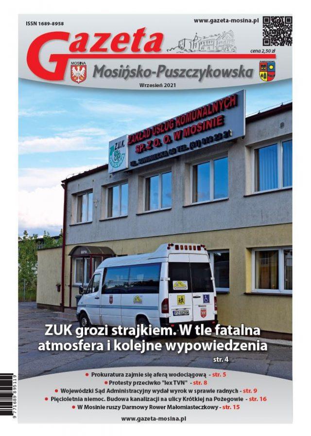 GMP - Wydanie wrzesień 2021 (okładka)