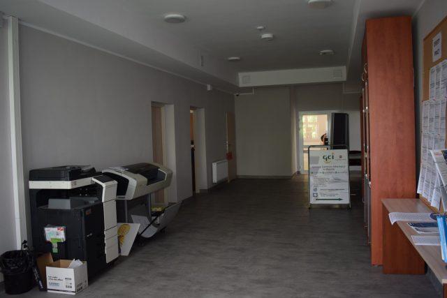 Druga siedziba urzędu miejskiego w Mosinie - wewnątrz