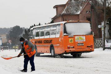 autobus szkolny w gminie Mosina