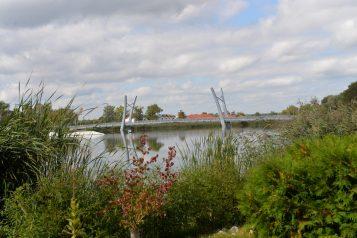 Kładka nad jeziorem Kórnickim
