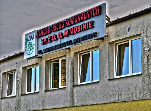ZUK w Mosinie - Zakład Usług Komunalnych Sp.z.o.o. w Mosinie