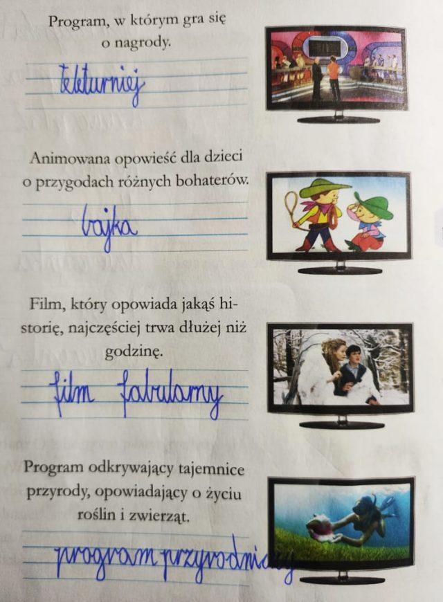 zadanie domowe