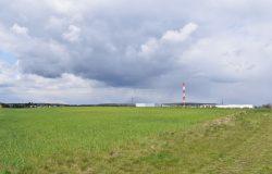 Tereny, gdzie władze gminy Mosina planują rozszerzenie strefy przemysłowej.
